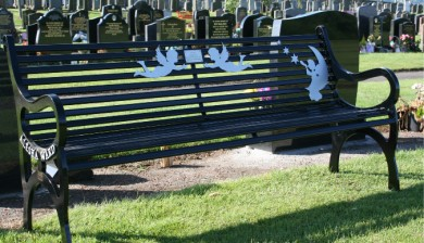 Themed Memorial Benches, Alesha Angel