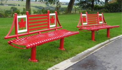 Themed Memorial Benches, the Balmoral