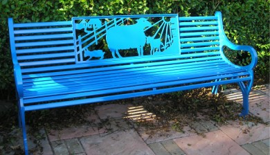 Themed Memorial Benches, the KC Bench