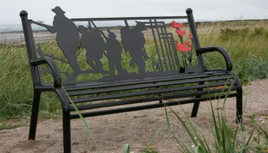 World War One Memorial Bench